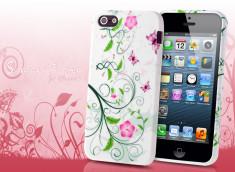 Coque iPhone 5 Summer Flower