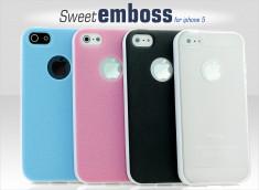 Coque iPhone 5 Sweet Emboss