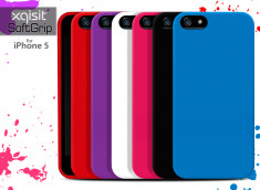 Coque iPhone 5 Xqisit Soft Grip