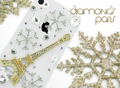 Coque iPhone 5 Diamond Paris