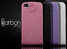 Etui iPhone 5 Karbon Style