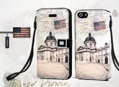 Etui iPhone 5/5S Grunge Capitale -NY-Modèle 2