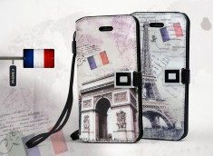 Etui iPhone 5 Grunge Capitale -Paris