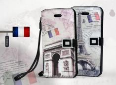 Etui iPhone 5 Grunge Capitale -Paris