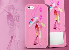 Coque iPhone 5/5S Mirror Lovers