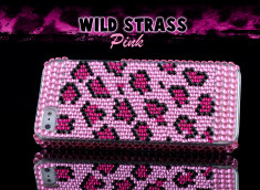 Coque iPhone 5 leopard rose