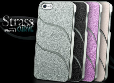 Coque iPhone 5 Strass Curve