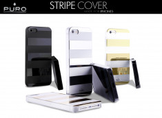 Coque iPhone 5 Stripe Cover by Puro