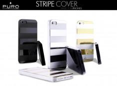 Coque iPhone 5 Stripe Cover by Puro
