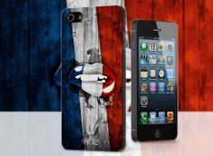 Coque iPhone 5/5S Lips Coupe du Monde 2014-France