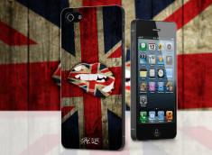 Coque iPhone 5/5S Lips Coupe du Monde 2014-UK