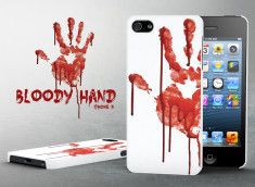 Coque iPhone 5/5S Bloody Hand