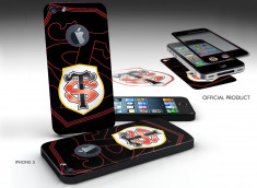 Sticker Adhérent surfaces lisses iPhone 5/5S Stade Toulousain