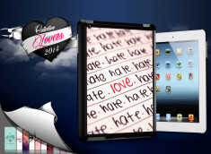 Coque iPad Retina/iPad 2 Hate but Love