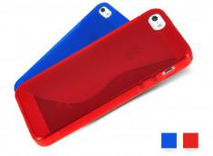 Coque iPhone 5 Silicone Grip Translucide