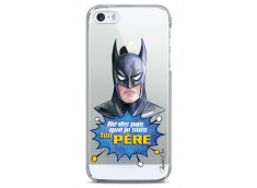 Coque iPhone 5C Batman watercolor masque