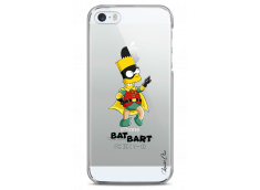 Coque iPhone 5/5s/SE Super Bat Bart Simpson cartoon design