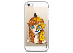 Coque iPhone 5C Anna walt Disney face design