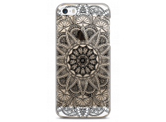 Coque iPhone 5C Black Mandala