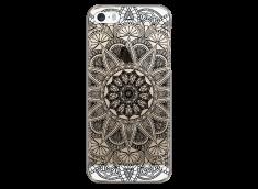 Coque iPhone 5C Black Mandala