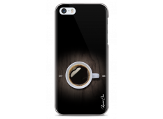 Coque iPhone 5C Coffee wood design