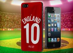 Coque iPhone 5/5S Coup du Monde 2014-Maillot England