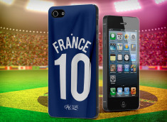 Coque iPhone 5/5S Coupe du Monde 2014-Maillot France