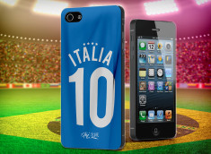 Coque iPhone 5/5S Coupe du Monde 2014-Maillot Italia