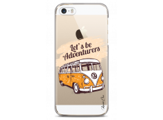 Coque iPhone 5C Let's be adventurers