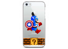 Coque iPhone 5C Mario Captain