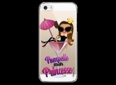 Coque iPhone 5C Pompette mais Princesse