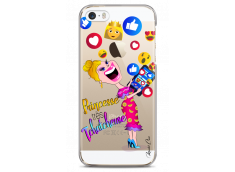 Coque iPhone 5C Princesse très Tchatcheuse