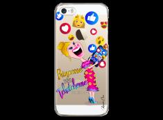 Coque iPhone 5C Princesse très Tchatcheuse