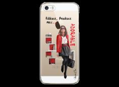 Coque iPhone 5/5s/SE Râleuse, Boudeuse mais Adorable