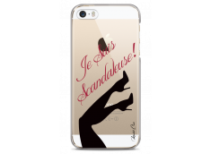 Coque iPhone 5C Scandaleuse black design