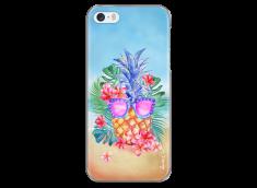 Coque iPhone 5C Summer watercolor ananas
