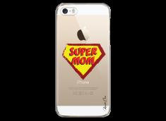 Coque iPhone 5C Super Mom - design
