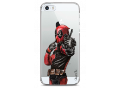 Coque iPhone 5C Deadpool 2 Watercolor design