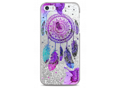 Coque iPhone 5/5s/SE Silver glitter Dreamcatcher artistic color