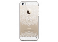 Coque iPhone 5C White Mandala design