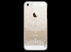 Coque iPhone 5C White Mandala design