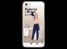 Coque iPhone 5/5s/SE Productive et Motivée