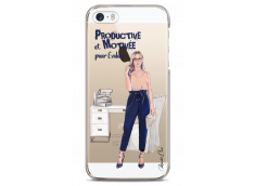 Coque iPhone 5C Productive et Motivée