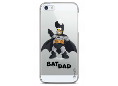 Coque iPhone 5/5s/SE Super Bat Dad Simpson cartoon design