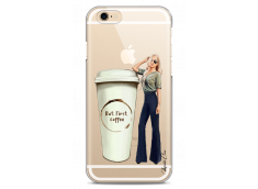 Coque iPhone 6Plus/6SPlus But first coffee