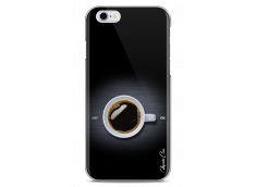 Coque iPhone 6/6S Coffee metal design