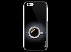 Coque iPhone 6Plus/6SPlus Coffee metal design