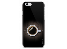 Coque iPhone 6/6S Coffee wood design