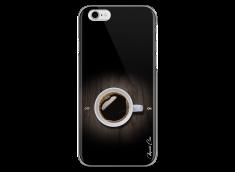 Coque iPhone 6Plus/6SPlus  Coffee wood design