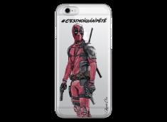 Coque iPhone 6Plus/6SPlus Deadpool 2 - Message